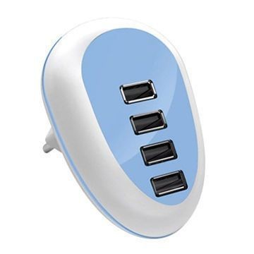 Hot sale USB fast mobile phone charging station with intelligent auto detect technology,CB/FCC/ROHS