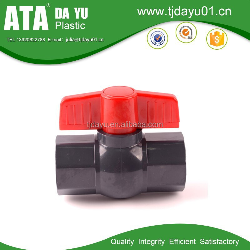 BSPT female pvc plastic octagonal ball valves