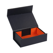 custom black folding bow tie gift boxes