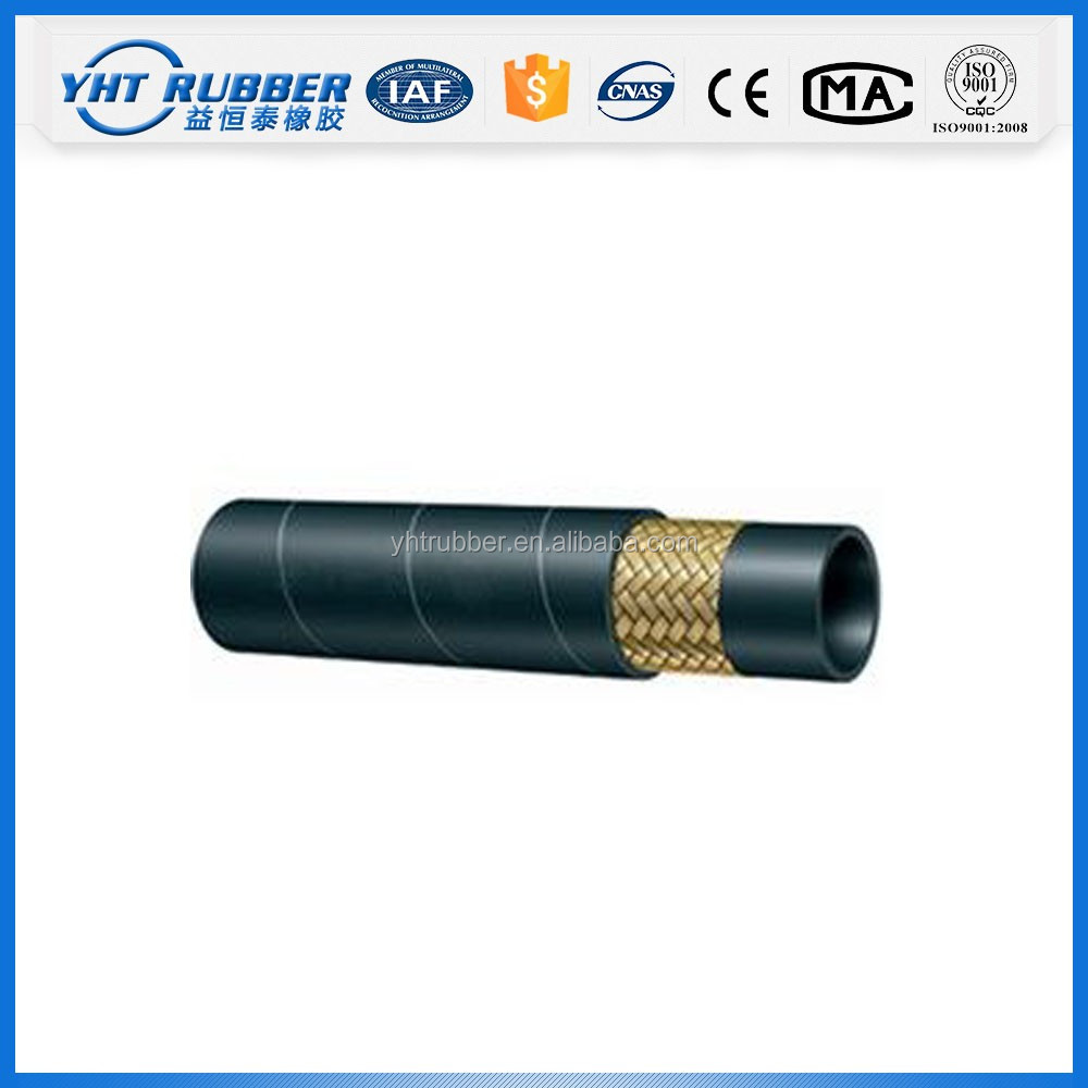Factory price stainless steel wire air conditioning rubber hose