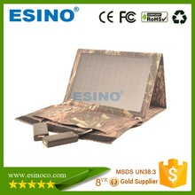 Promotion Folding Portable Foldable Solar Charger Panel with USB Compatible Devices