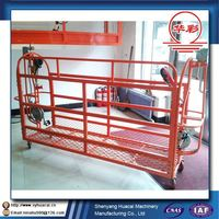 ZLP400 flying hot sale aluminium alloy window wall clearning CE scaffolding machine