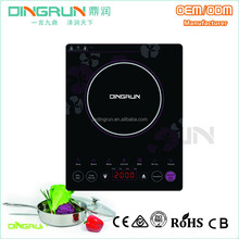 Paper box package 220 V 50 Hz soft touch control induction plate cooker with pcb circuit