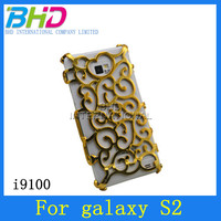 Artistic Palace Flower back cover Case for Samsung Galaxy S2 i9100