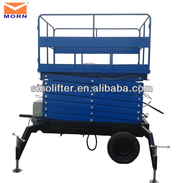 6m moveable scissor lifting devices