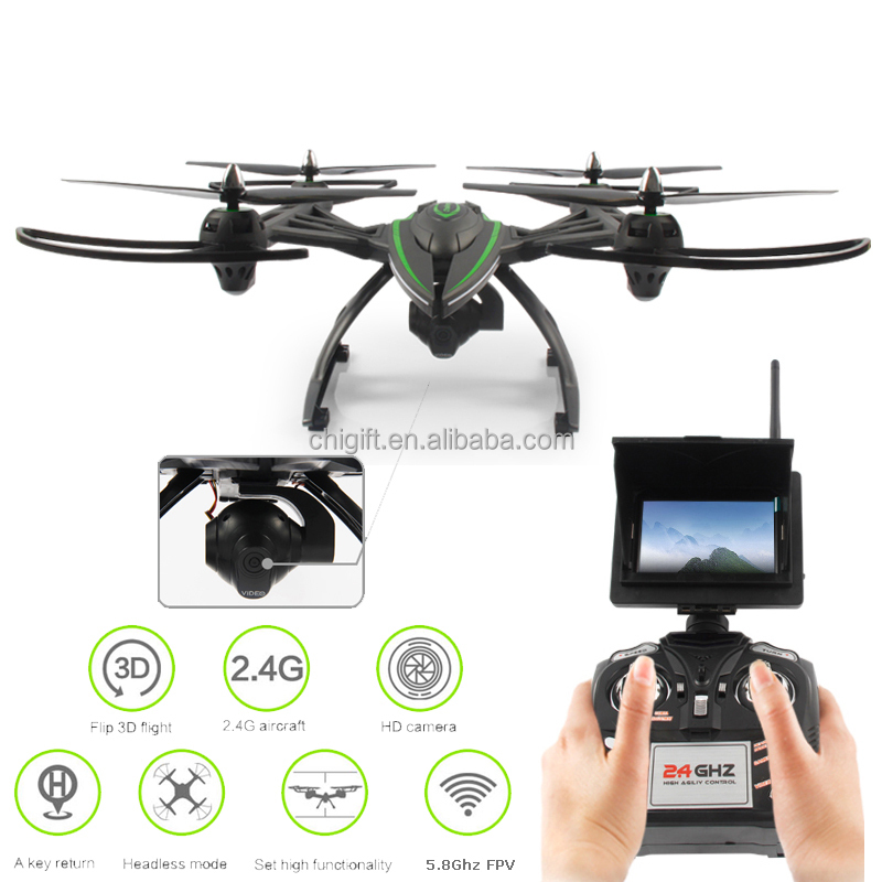 JXD 506G Big Drone 5.8G FPV Quadcopter RC Drone with 2.0MP HD Real-time Camera