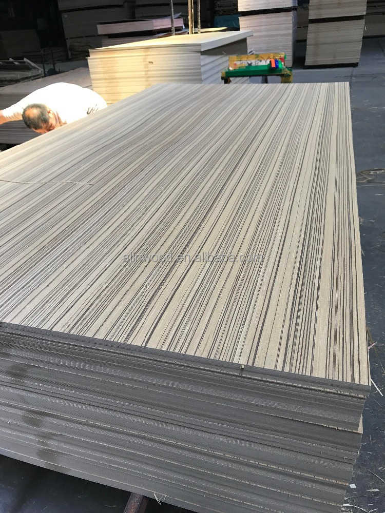 Best price linyi cheapest recon straight line teak mdf for india market