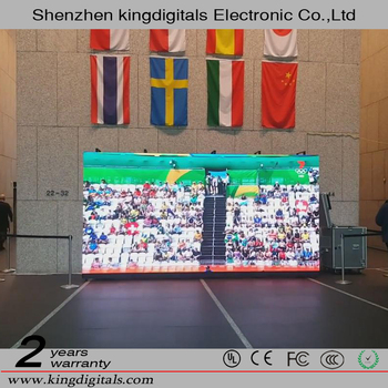 only 8kg Rental Indoor P5 Full Color Die-Casting Cabinet LED Advertising Screen