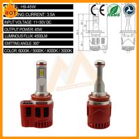 Best Selling LED Light 45W 4500LM 6000K D1S Car LED Head Light Conversion Kits for Truck