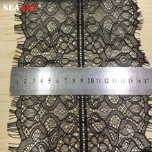 Wholesale New Product Cheap Guipure Floral Heavy Eyelash Tokay Lace