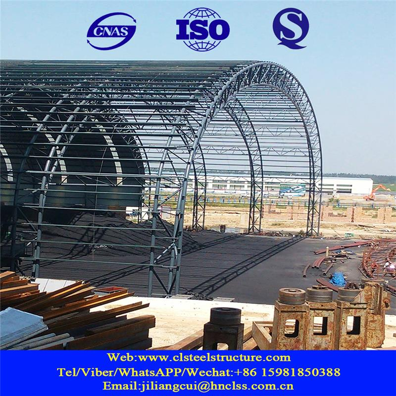 dome house corrugated stainless steel sheet steel structure drawing