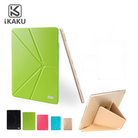 KAKU For Ipad Case Smart Sleep Wake Suede Pu Flip 5 Foldable Leather Tablet Case For Ipad Pro Stand Cover For Ipad