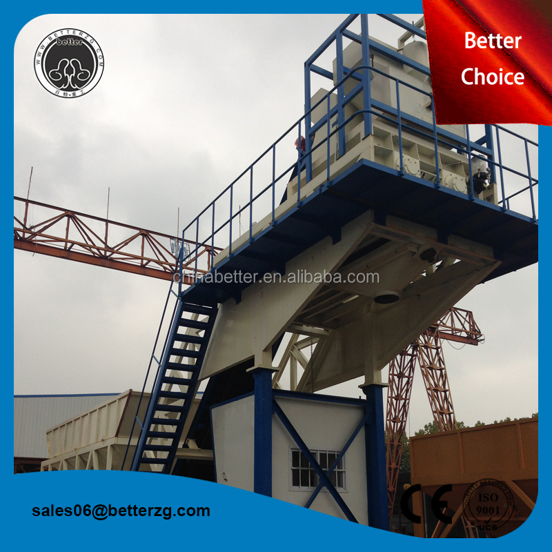 Precast 25m3/h fixed ready mix mobile concrete batching plant