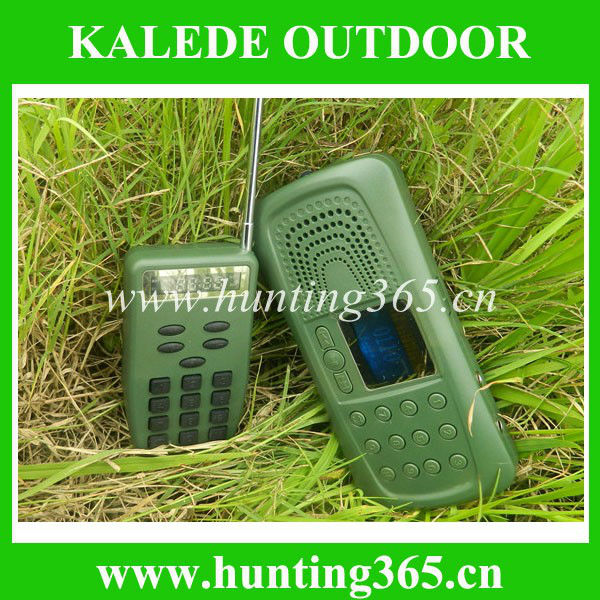 Bird sounds mp3 hunting device game call CP 387 with timer and remote