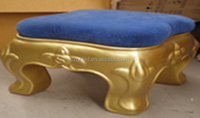 45X45X45cm fiberglass golden(any color) table/chair/stool waterproof indoor/outdoor decorations/christmas/holiday decorations