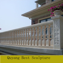 Home Decoration Natural Balcony Stone Baluster Railing for sale
