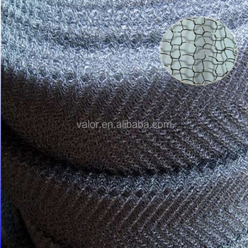 gas liquid knitted wire mesh/moisture separator/SS knitted mesh for demsiter