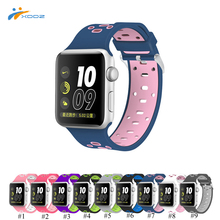 XDDZ High Quality for Apple Watch Soprt Band Silicone Watch Strap with Classic Buckle 38mm / 42 mm Universal for Series 1 & 2