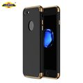 3 in 1 Thin Hard Slim Fit Case with 3 Detachable Parts for iPhone 7 mobile back cover