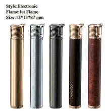 lady jet flame slim cigarette lighter butane