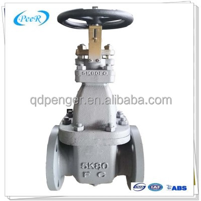 ISO9001 CERTIFICATED cast iron gate valve sluice valve