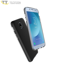 2017 factory oem soft tpu pc black back cover case for samsung galaxy j7+ j7 plus case