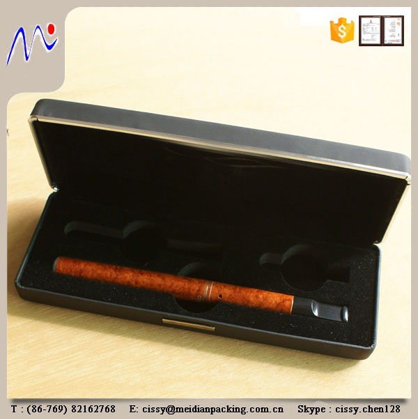 Hot Sale Metal PU Leather E Cigarette Box