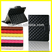 2013 New Fashion Luxury Advance Leather Belt Clip Case for iPad Belt Clip Stand Case With Card Slot Manufacturer Wholesale