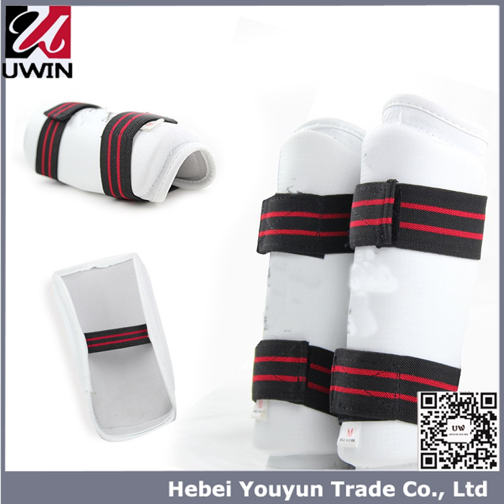 Martial arts shin guards, shin instep, karate and Kick boxing protection pads