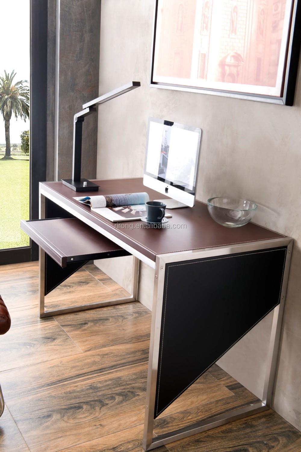 rirong factory direct sale new design cheap modern computer desk buy gaming computer desk new. Black Bedroom Furniture Sets. Home Design Ideas