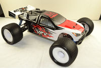 VRX-1 Truggy printed PC body(black),Printed body shell for 1/8th scale rc truggy,High quality rc body shell for sale