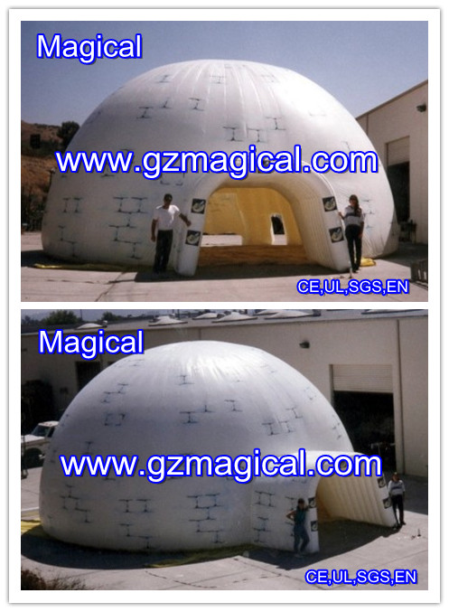 inflatable LED giant dome by Magical manufacture