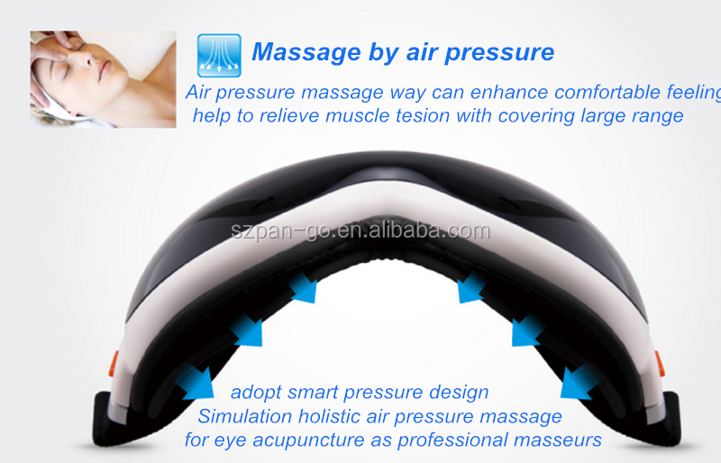 Home use automatic acupuncture vibration eye care massager with FDA CE
