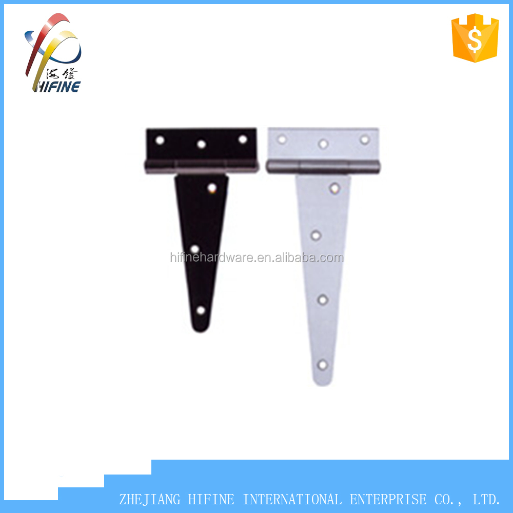 High quality Heavy duty T hinge Steel T type hinge T strap hinge