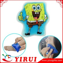 Hot Sale Soft Reusable PVC Magic Hot Cold ice Pack Gel Slipper