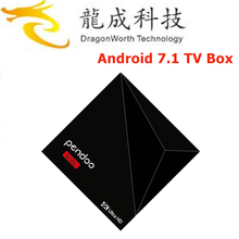 2017 home used Pendoo A5X Plus Mini RK3328 1G 8G tv box android 7.0 wholesale online Android 7.1 TV Box