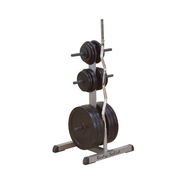 Body Solid Standard Weight Tree & Bar Rack GSWT