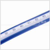 75CM soft rubber adjustable french curve ruler for garment design #KF-75