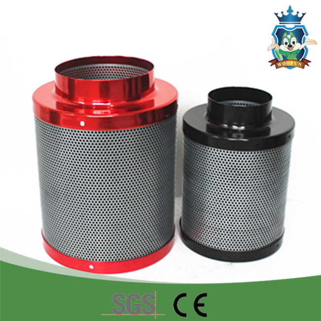 Activated carbon for air filter exhaust fan filter odors removal carbon air filter
