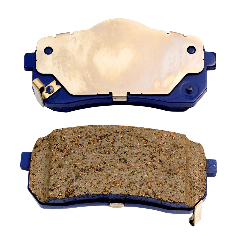 Carbon ceramic disc brake pad back plate
