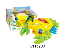 plastic B/O cartoon lobster , B/O animal toys,battery operated toys HJ116233