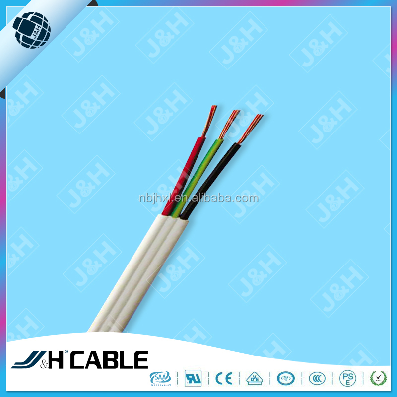 Three Core Flat Cables : Twin cable and flat tps cables v saa standard three