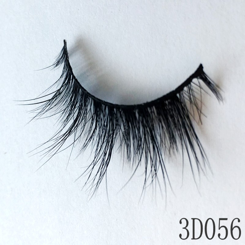 Durable and Reusable Private Label and Custom Lashes 3D Mink Eyelashes False Eyelashes for Woman Makeup From Casual to Glam