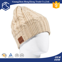 New design bluetooth beanie hat with headphone wholesale