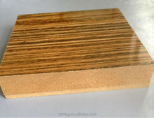 The wood grain melamine faced MDF Panel ,High glossy uv coating wood grain mdf