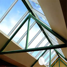 Ultra clear aluminum frame pyramid insulated skylight roof sheet