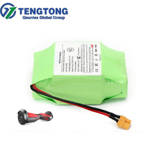 Factory customized 18650 10S2P lithium ion battery pack 36v 4400mah battery pack UL approved hoverboard battery