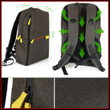 Floding sport Fashion Canvas for nikon camera bag