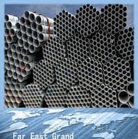 Distributor required galvanized steel pipe metal tube prefab houses