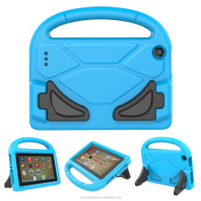 Newest arrival cute 3D cartoon stand robot rugged tablet case for 7 inch tablet e-book cover